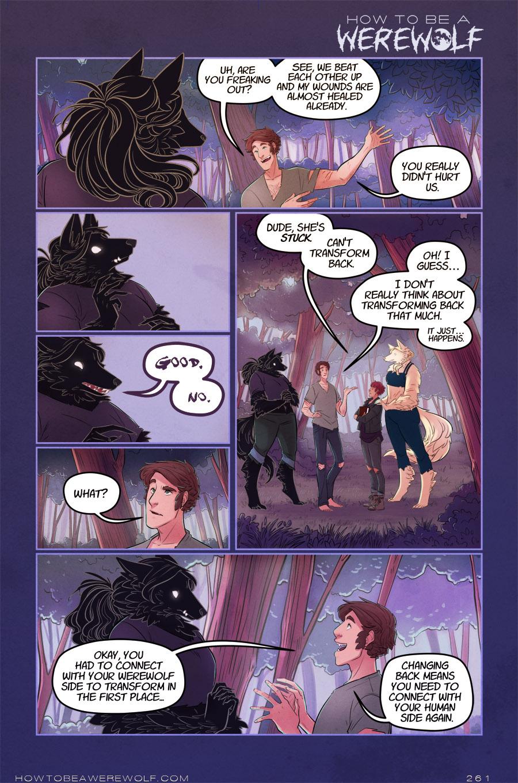 Werewolves talk good